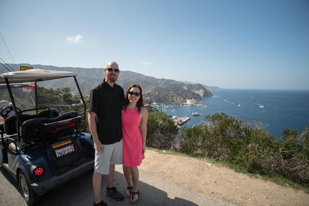 getaway to catalina island - trailing away