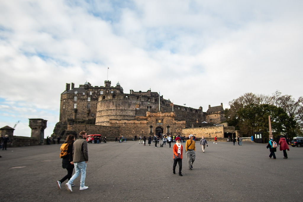 Edinburgh Scotland castle