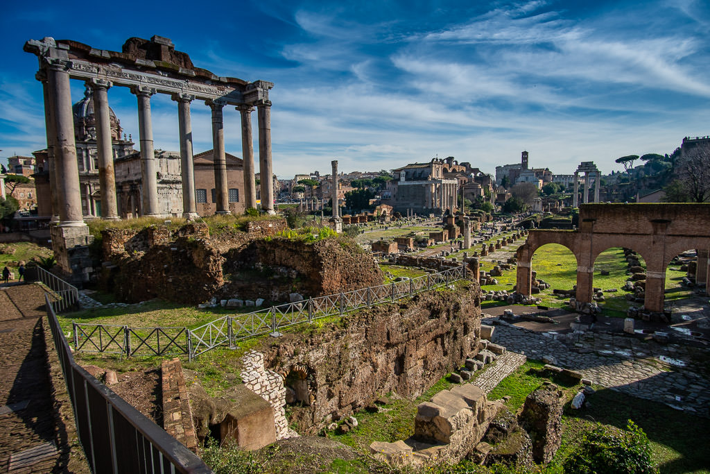 first trip to Rome Italy - Roman Forum